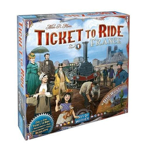 Ticket to Ride: France & Old West extensie-Days Of Wonder-1-Jocozaur