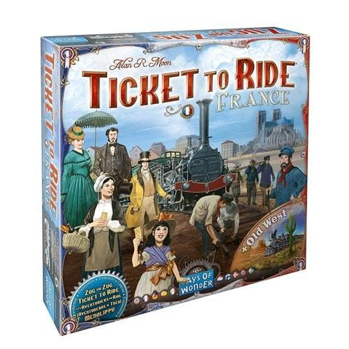 Ticket to Ride: France & Old West extensie