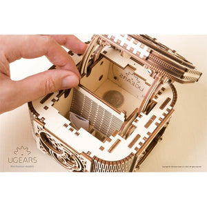 UGEARS Treasure Box-Ugears-5-Jocozaur