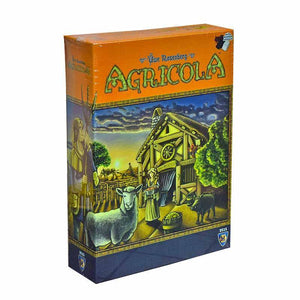 Agricola Ediția revizuită 2016-Mayfair Games-1-Jocozaur