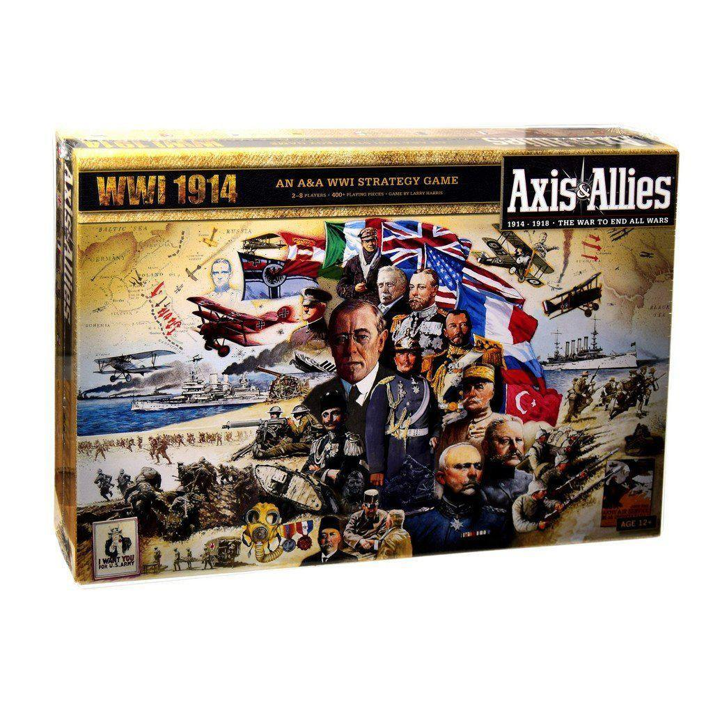 Axis & Allies: WWI 1914-Avalon Hill Games-1-Jocozaur