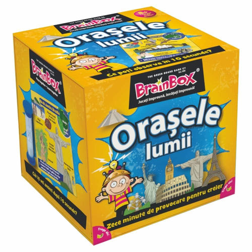 Brainbox - Orașele lumii-Ludicus Games-1-Jocozaur