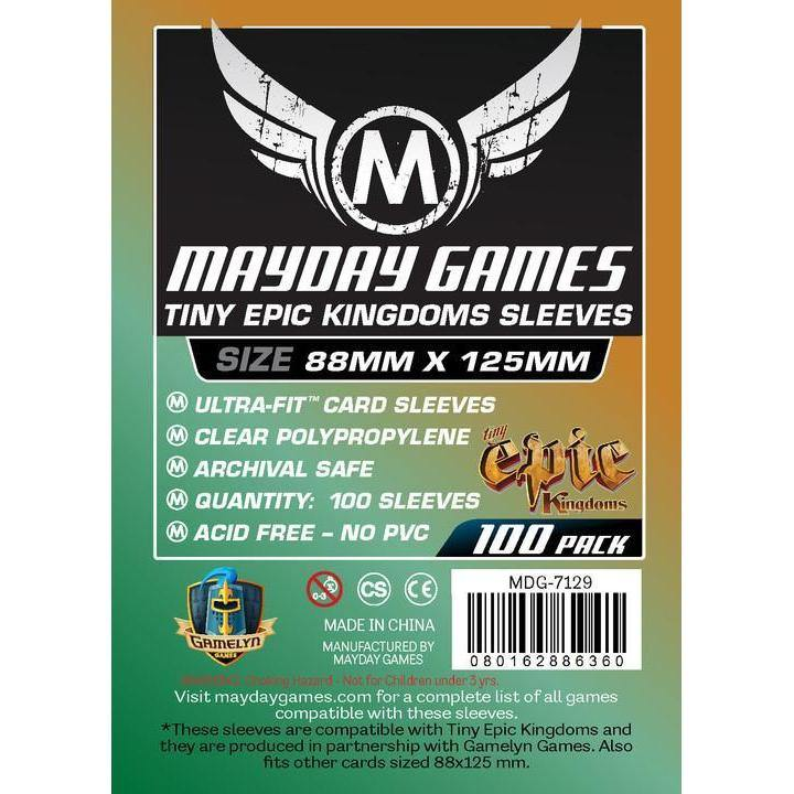Custom Tiny Epic Mayday Card Sleeves (pack of 100) 88mm x 125mm-Mayday-1-Jocozaur