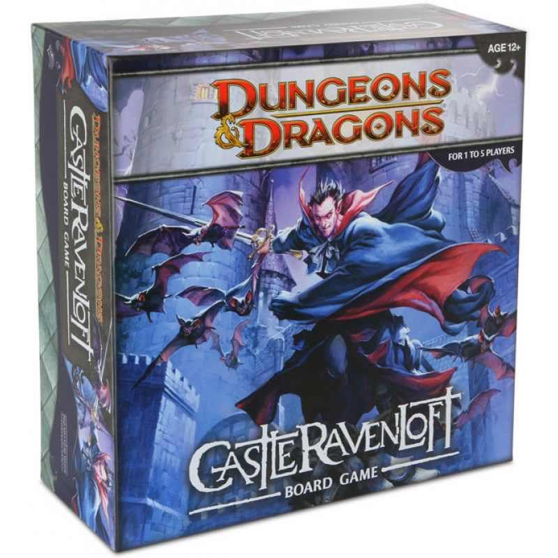 Dungeons & Dragons: Castle Ravenloft Board Game-Wizards of the Coast-1-Jocozaur