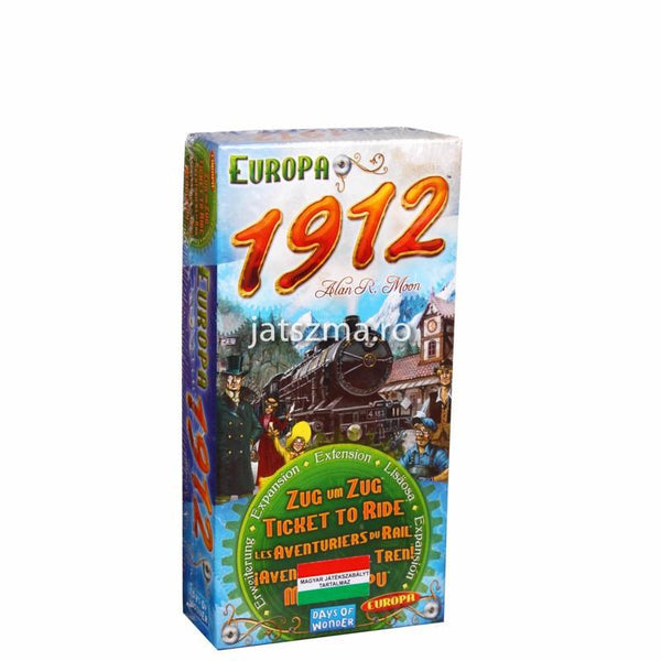 Ticket to Ride: Europe 1912 extensie
