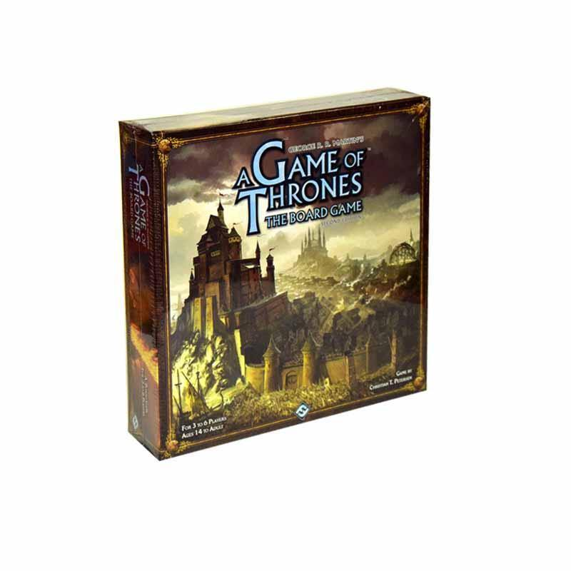 Game of Thrones The Board Game - Second Edition-Fantasy Flight Games-1-Jocozaur