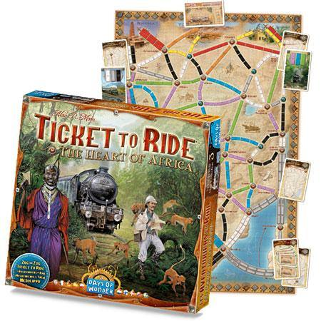 Ticket to Ride: Heart of Africa extensie