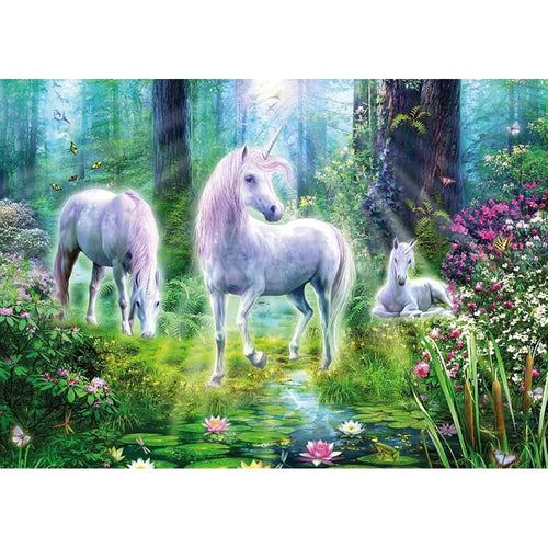 Puzzle 1000 Idyll in the Enchanted Forest 58163-Schmidt-1-Ludicus.ro - Magazinul Clipelor magice