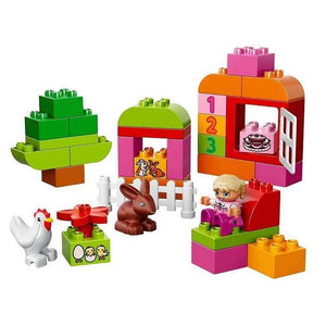 LEGO Duplo - All in one pink box of fun 10571-LEGO-9-Jocozaur