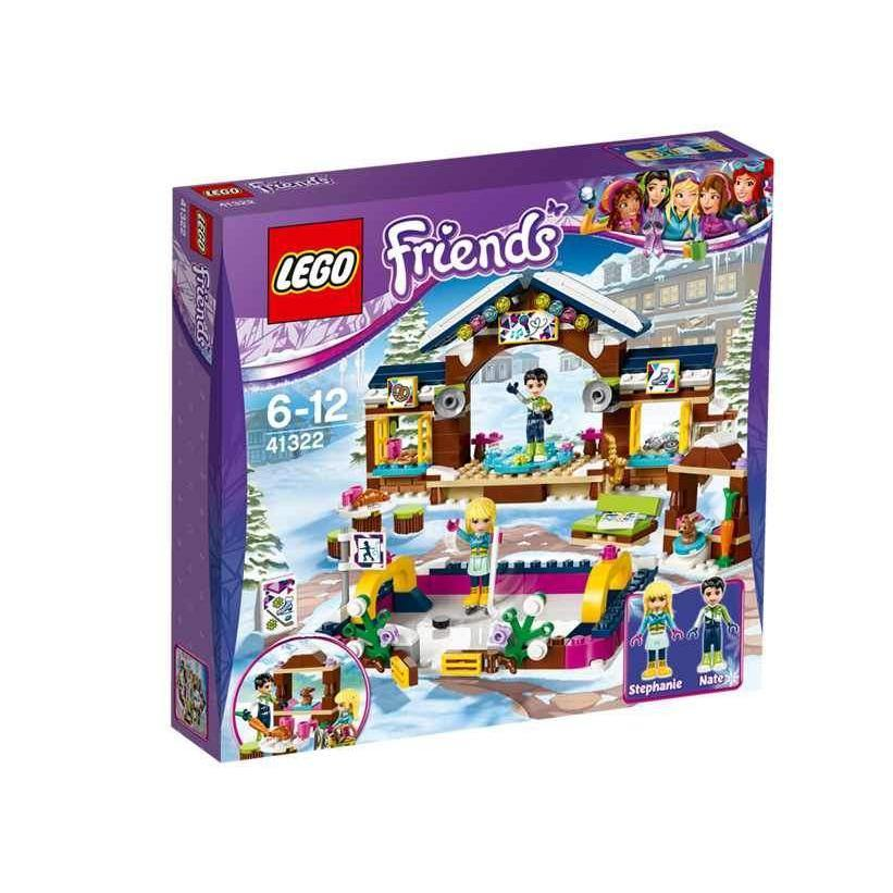 LEGO Friends Snow Resort Ice Rink 41322-LEGO-1-Jocozaur