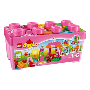LEGO Duplo - All in one pink box of fun 10571-LEGO-1-Jocozaur
