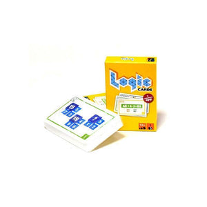 Logic cards - Yellow-Brain Games-1-Jocozaur