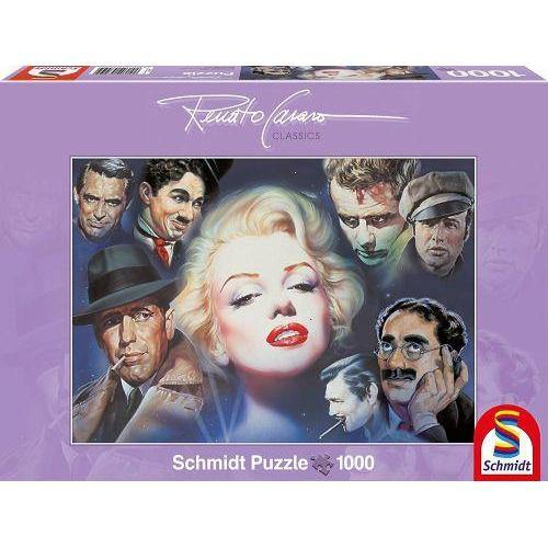 Puzzle 1000 MARILYN MONROE AND FRIENDS-Schmidt-1-Jocozaur