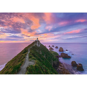 Puzzle Nugget Point Lighthouse-Schmidt-2-Ludicus.ro - Magazinul Clipelor magice
