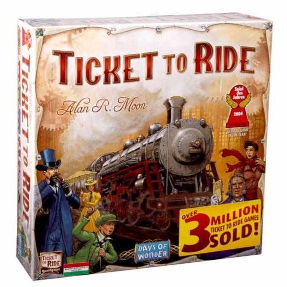 Ticket to Ride - America (Engleză)