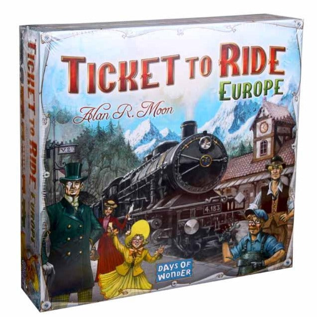 Ticket to Ride - Europe-Days Of Wonder-1-Ludicus.ro - Magazinul Clipelor magice