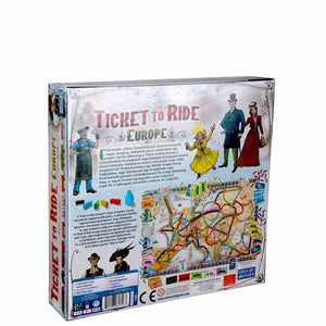 Ticket to Ride - Europe-Days Of Wonder-4-Ludicus.ro - Magazinul Clipelor magice
