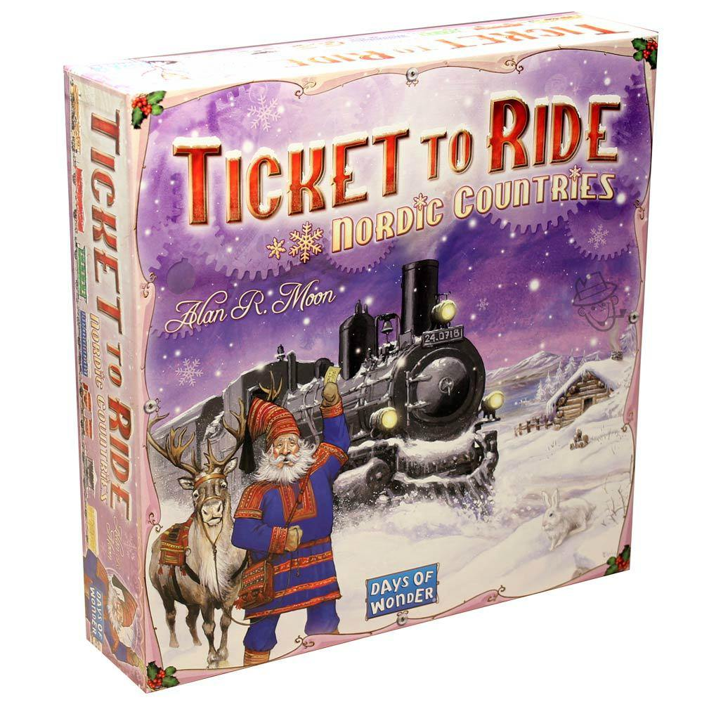 Ticket to Ride - Nordic Countries-Days Of Wonder-1-Ludicus.ro - Magazinul Clipelor magice
