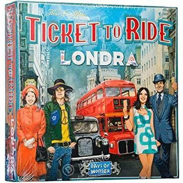 Ticket to Ride Londra-Days Of Wonder-1-Ludicus.ro - Magazinul Clipelor magice