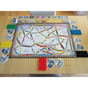 Ticket to Ride: United Kingdom + Pennsylvania extensie-Days Of Wonder-4-Jocozaur