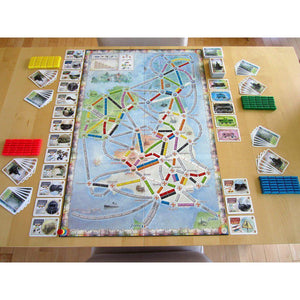 Ticket to Ride: United Kingdom + Pennsylvania extensie-Days Of Wonder-8-Jocozaur