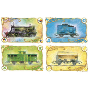 Ticket to Ride: United Kingdom + Pennsylvania extensie-Days Of Wonder-10-Jocozaur