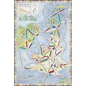 Ticket to Ride: United Kingdom + Pennsylvania extensie-Days Of Wonder-6-Jocozaur
