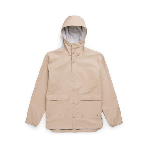 HERSCHEL FORECAST HOODED COACH JACKET - INCENSE