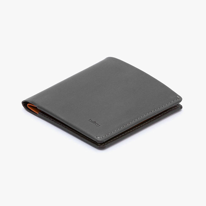 Note Sleeve Wallet in Charcoal