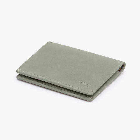Slim Sleeve Wallet in Eucalyptus