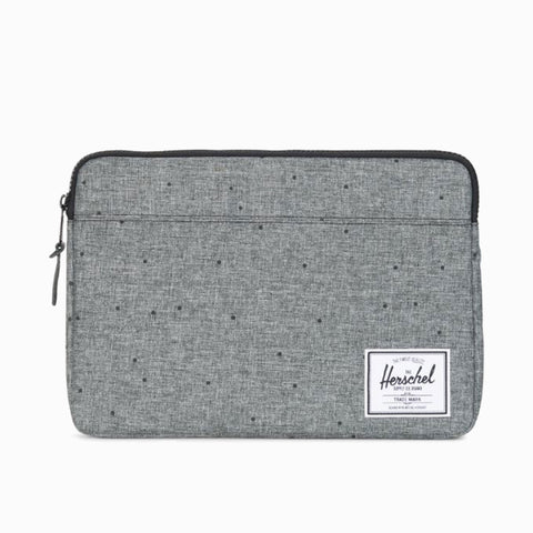 HERSCHEL ANCHOR LAPTOP SLEEVE - Scattered Raven Crosshatch