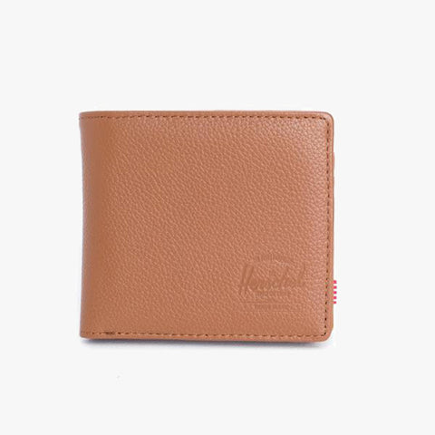 Large Hank Tan Pebbled Leather Wallet