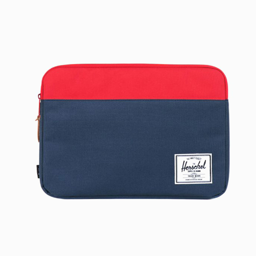 HERSCHEL ANCHOR LAPTOP SLEEVE - RED / BLUE