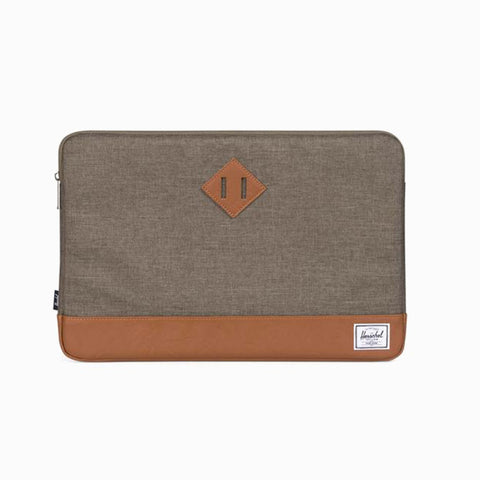 "HERSCHEL 15"" CANTEEN CROSSHATCH HERITAGE LAPTOP SLEEVE"