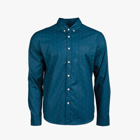 UNITED BY BLUE  PINE GROVE SHIRT - Blue