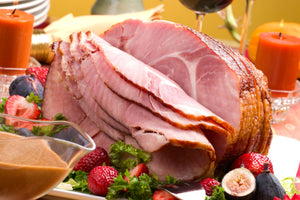 Honey-Glazed, Sliced Easter Ham Simply Re-heat and Serve