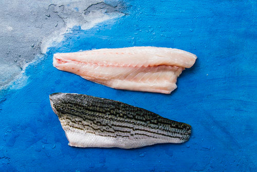 Pacifico Aquaculture Ocean-Raised Striped Bass (Filet) - Chef's Fresh Fish