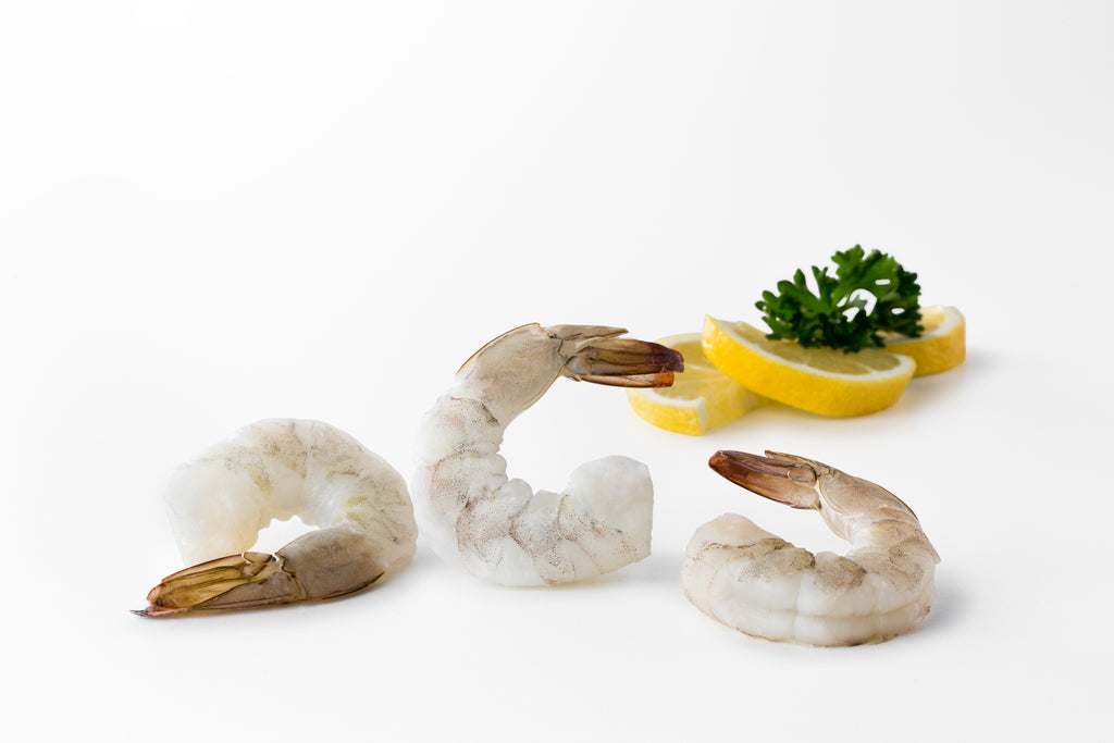 Seattle Fish Co. Frozen Raw Shrimp (Tail On) - Chef's Fresh Fish
