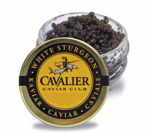 Cavalier Caviar Club White Sturgeon (1 oz.)