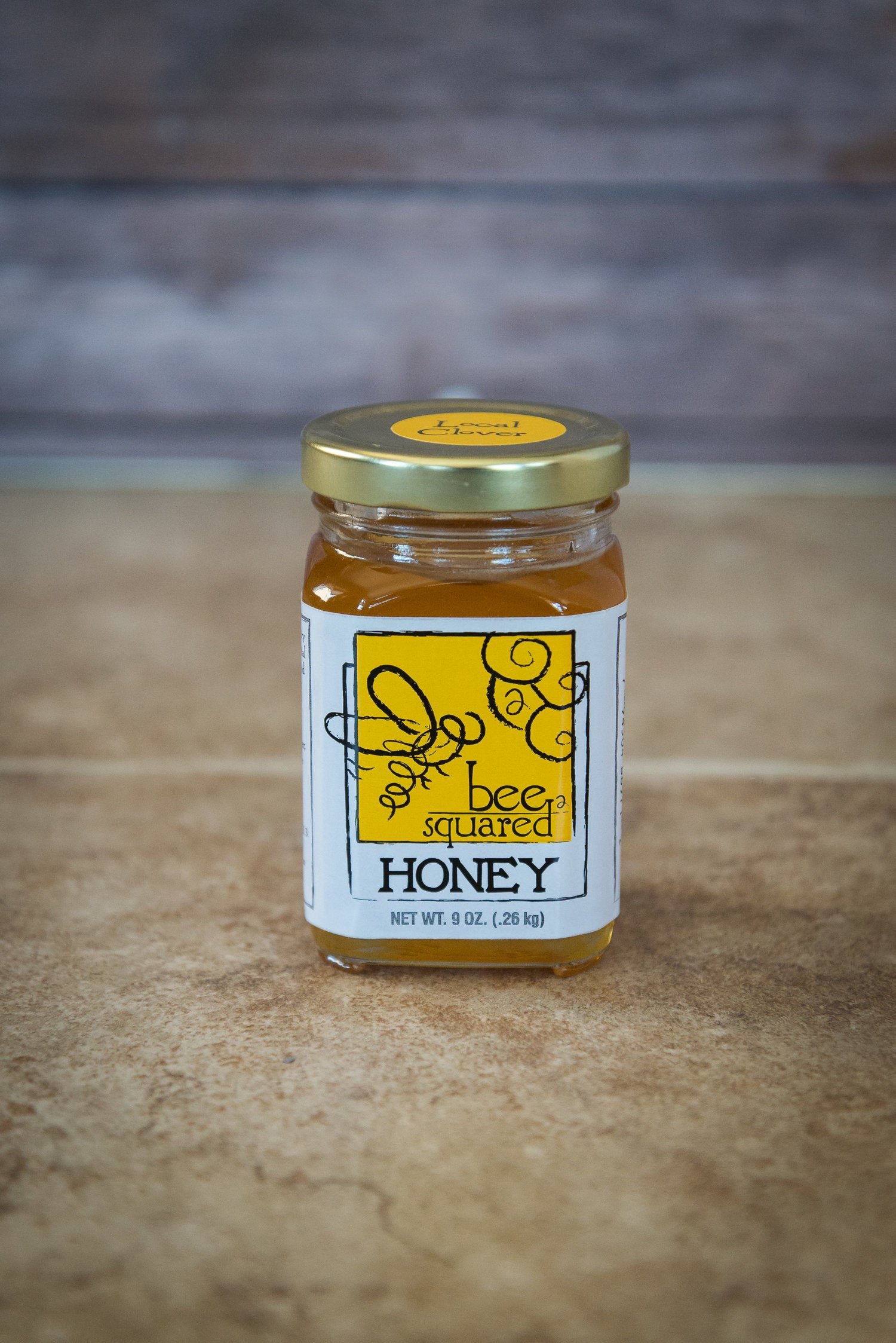 Bee Squared Apiaries Honey - Clover (9 oz.)