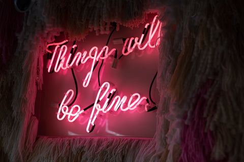 Things will be fine poster