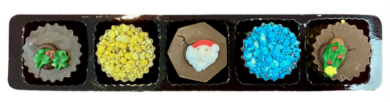 Decorated Christmas 5 Tray