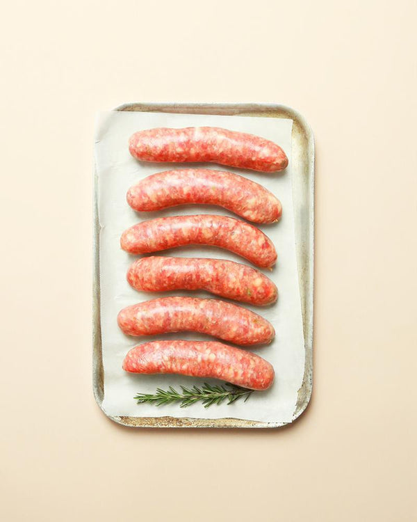 Lamb, Rosemary & Garlic Thick Sausages - Pomelo Online Restaurant Ready-Made Home Delivery Meals