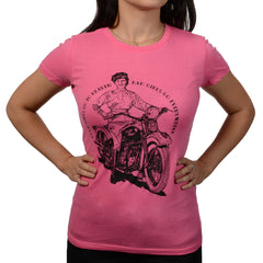 "Women's ""Good Girls"" Pink T-Shirt"