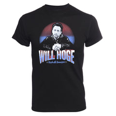 Black Nashville Will Hoge Face Tee