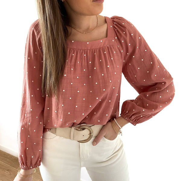 "Blouse ""Julie"" Rose"