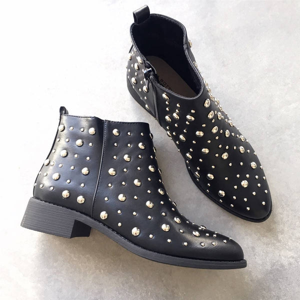"Boots ""Gina"" Noires"