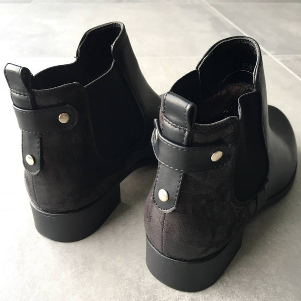 "Boots ""Kayna"" Noires"