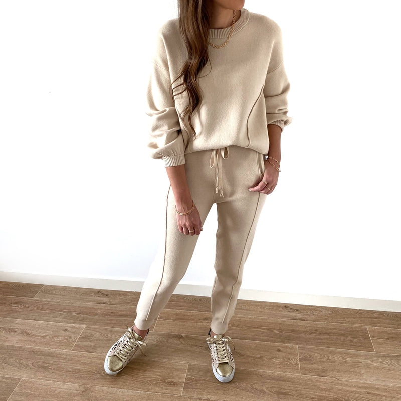 "Ensemble ""Cozy"" Beige"