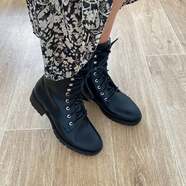 "Bottines ""Robyn"" Noires"